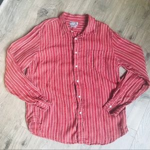 Lucky Brand Linen Shirt | XL